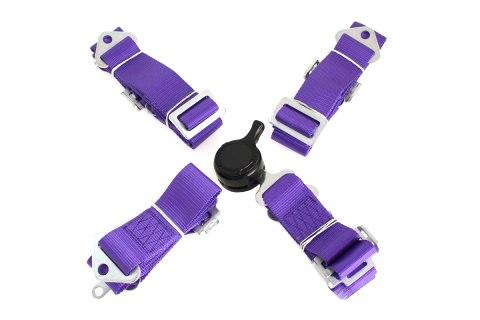 """Pasy sportowe 4p 2"""" Purple - Quick - GRUBYGARAGE - Sklep Tuningowy"""